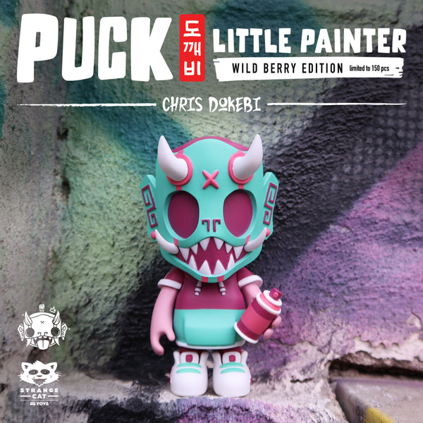 Puck - Little Painter Wild Berry by Chris Dokebi