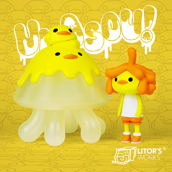 Umasou Jellyfish Duckie by Litor's Works - Preorder