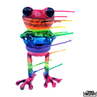 Blown Away APO frog by Josh Mayhem