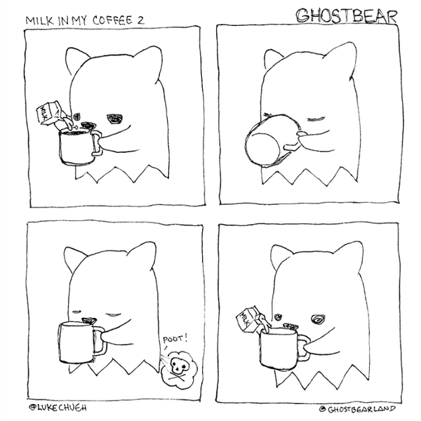 Ghostbear - Invisible by Luke Chueh