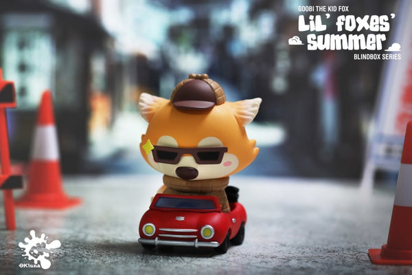 Goobi the Kid Fox – Lil' Foxes Summer series by OKluna x POP MART