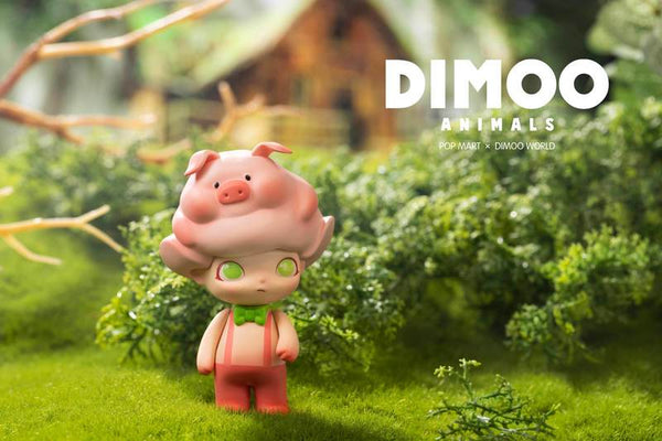 Dimoo Animals Mini Series by Ayan x Pop Mart - Preorder Aug 10th