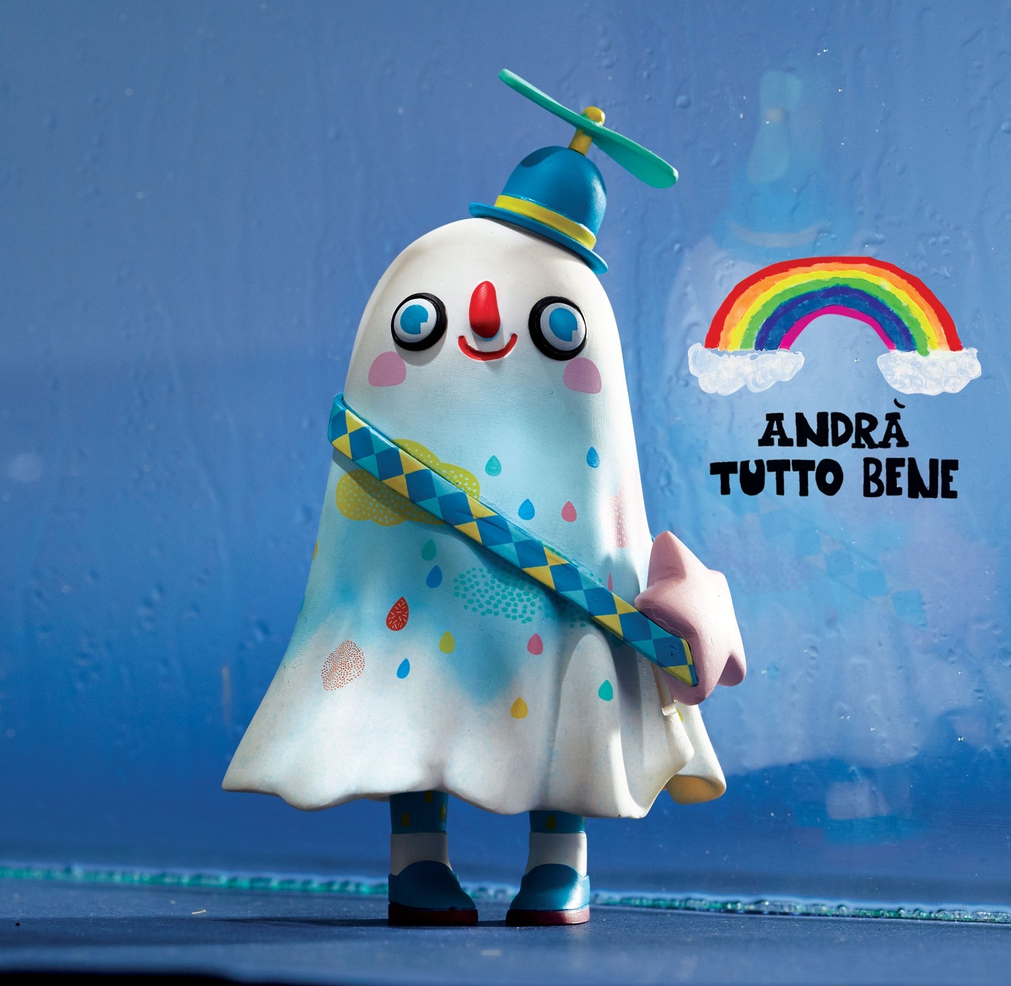 Little White - Andra Tutto Bene by Zu & Pi - Strangecat Toys Exclusive