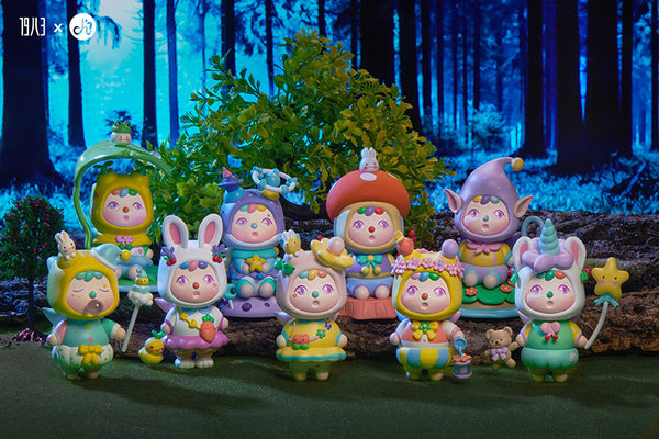 Larvochoi Forest Fairies Series by Playgrounders x 1983 Toys - Preorder