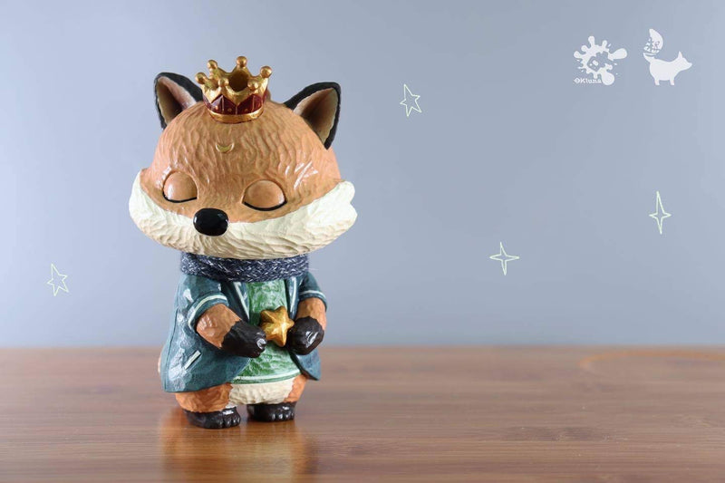 Okluna x Woodcarving animals: The king of another world