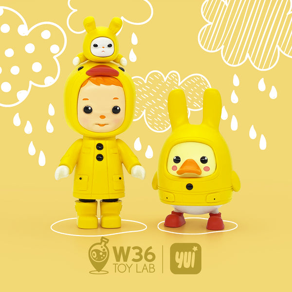 Little Duck - Zoe & Finn by W36 Toy Lab
