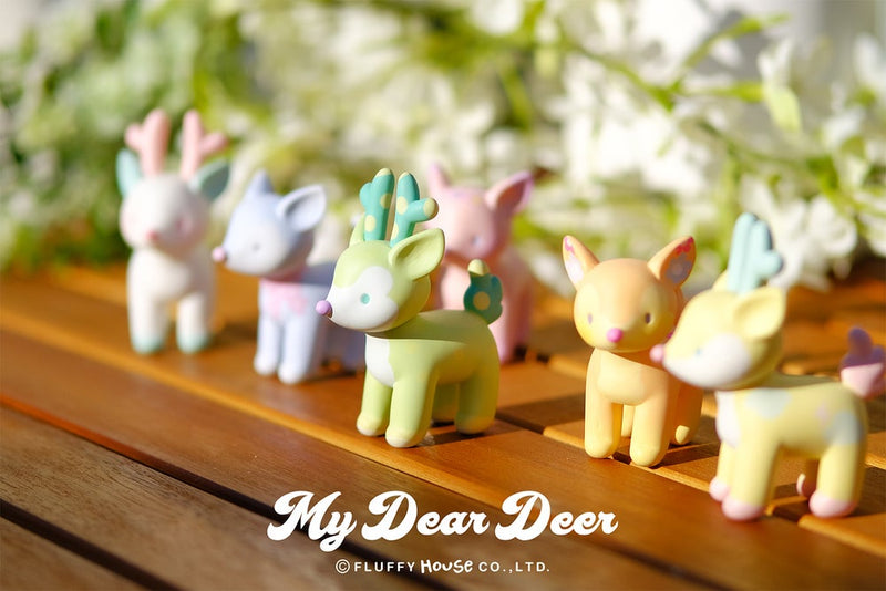 My Dear Deer blind box series by Fluffy House - Preorder