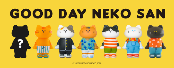 Good Day Neko San Blind Box Series 1 by Fluffy House - Preorder