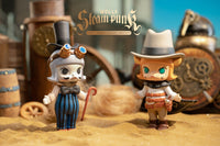 Molly Steam Punk Blind Box Series by 鐮田光司 Kamaty Moon x Kenny Wong x POP MART