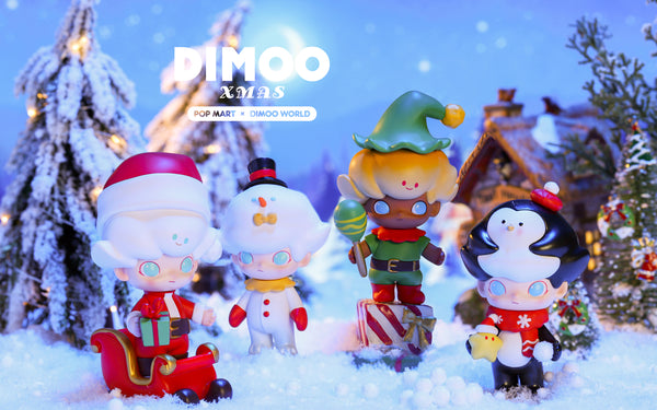 Dimoo Xmas Series by Ayan x Pop Mart - Preorder