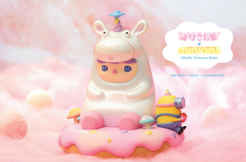 Fluffy Unicorn Baby by Pucky X Minions