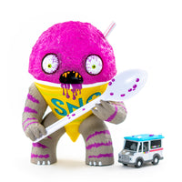 The Abominable Snow Cone Grape Edition by Jason Limon x Martian Toys