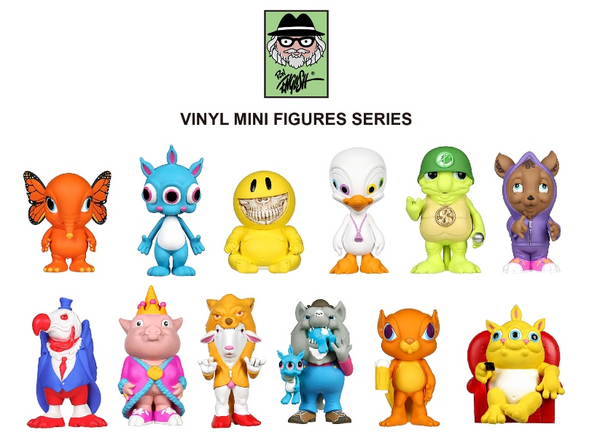 Dellusionville Minis by Ron English x Pop Life - Preorder