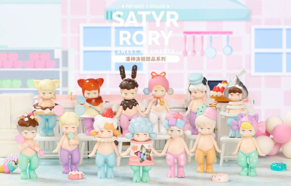 Satyr Rory SWEET AS SWEETS Series by SEULGIE x POP MART