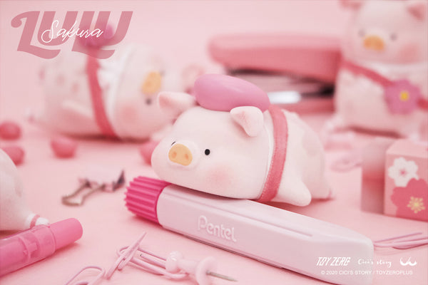 LULU the piggy - Sakura Series Blind Box Set by Cici's Story - Preorder