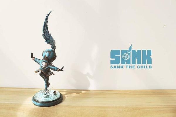 Sank The Child Dancing Alone - Blues by Sank Toys