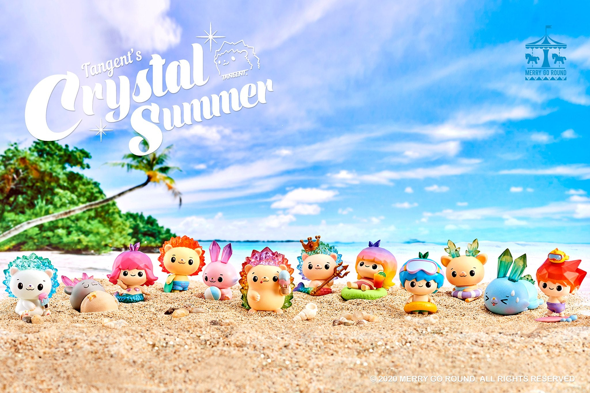 Tangent Crystal Summer Blindbox Series - Preorder