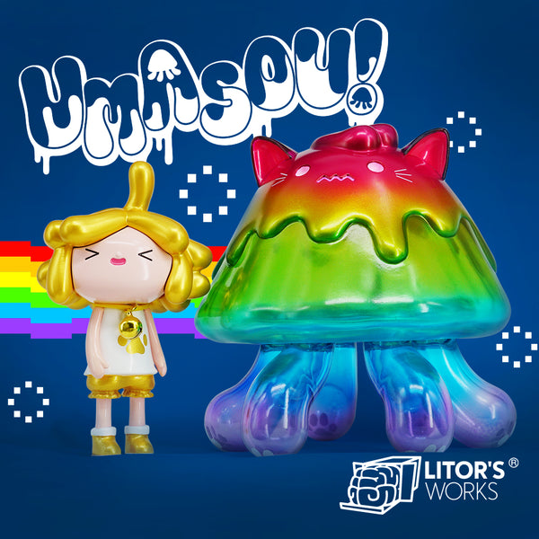 Umasou! Jellyfish - Rainbow by Litor's Works - Preorder