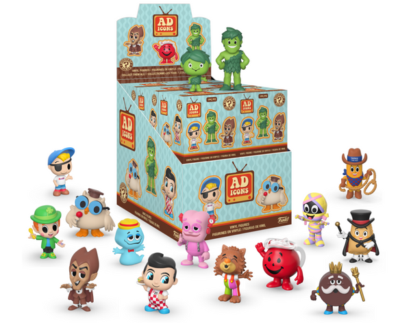 Mystery Minis: Ad Icons