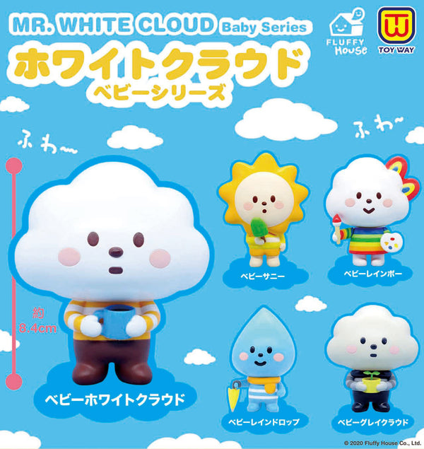 Mr. White Cloud Baby Series (Capsule Toy) - Preorder