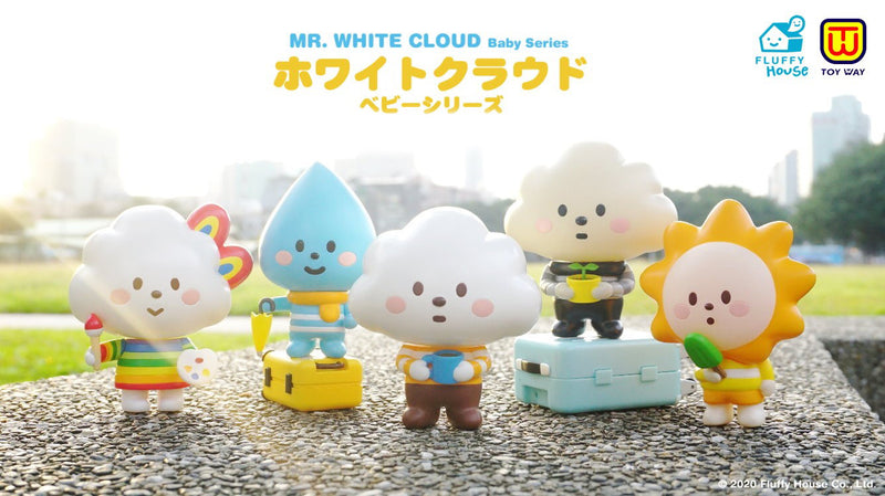 Mr. White Cloud Baby Series (Capsule Toy)