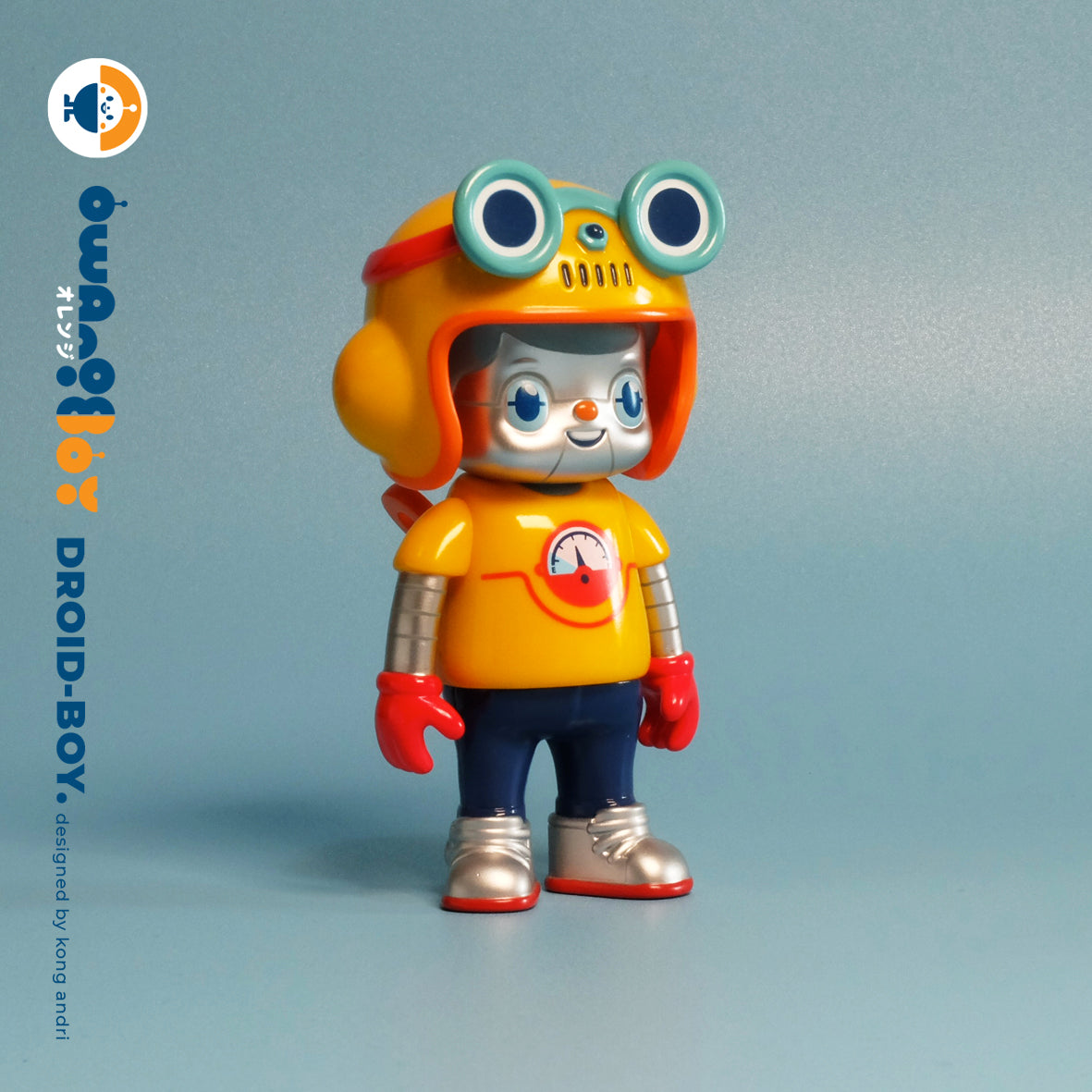 The Droid boy - Owangeboy by Kong Andri - Strangecat Exclusive
