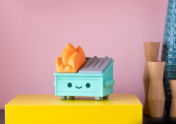 Dumpster Fire Light Vinyl Figure - Preorder