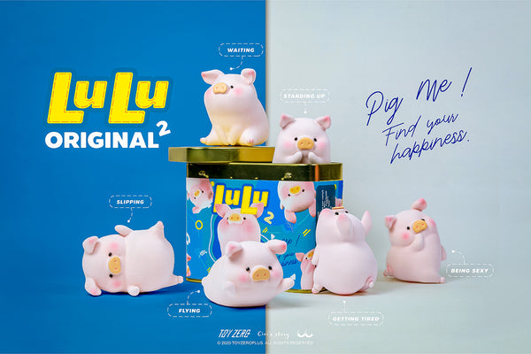 LuLu The Piggy - The Original 2nd Series by Cici's Story x ToyZero Plus - Preorder