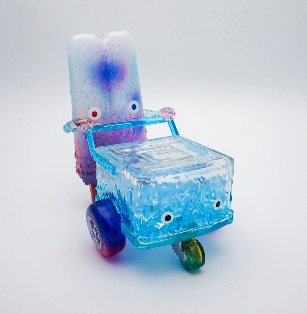 Popsicle Mon - Blue Popsicle Cart Set by 16M
