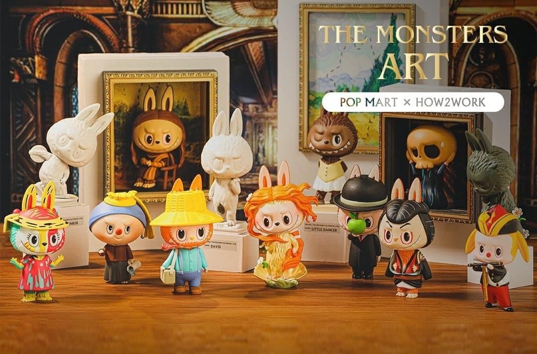 The Monster Art Labubu BlindBox Series by Kasing Lung x Pop Mart