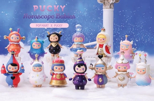 Pucky Horoscope Babies Series by PUCKY x POP MART