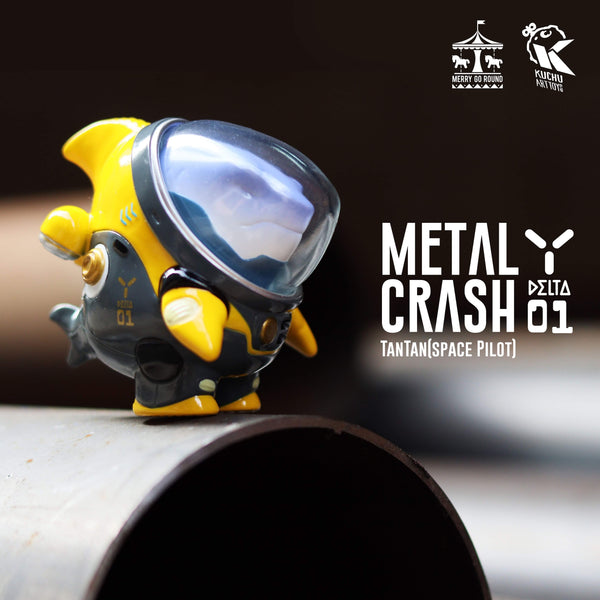 Space Pilot TAN TAN - Yellow Metal Crash by MGR x Kuchu - Preorder