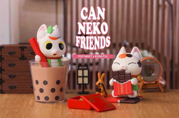 Can Neko Friends Sweet Blindbox Series by Konatsu