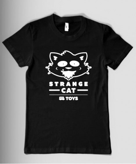 Strangecat T-Shirt Black