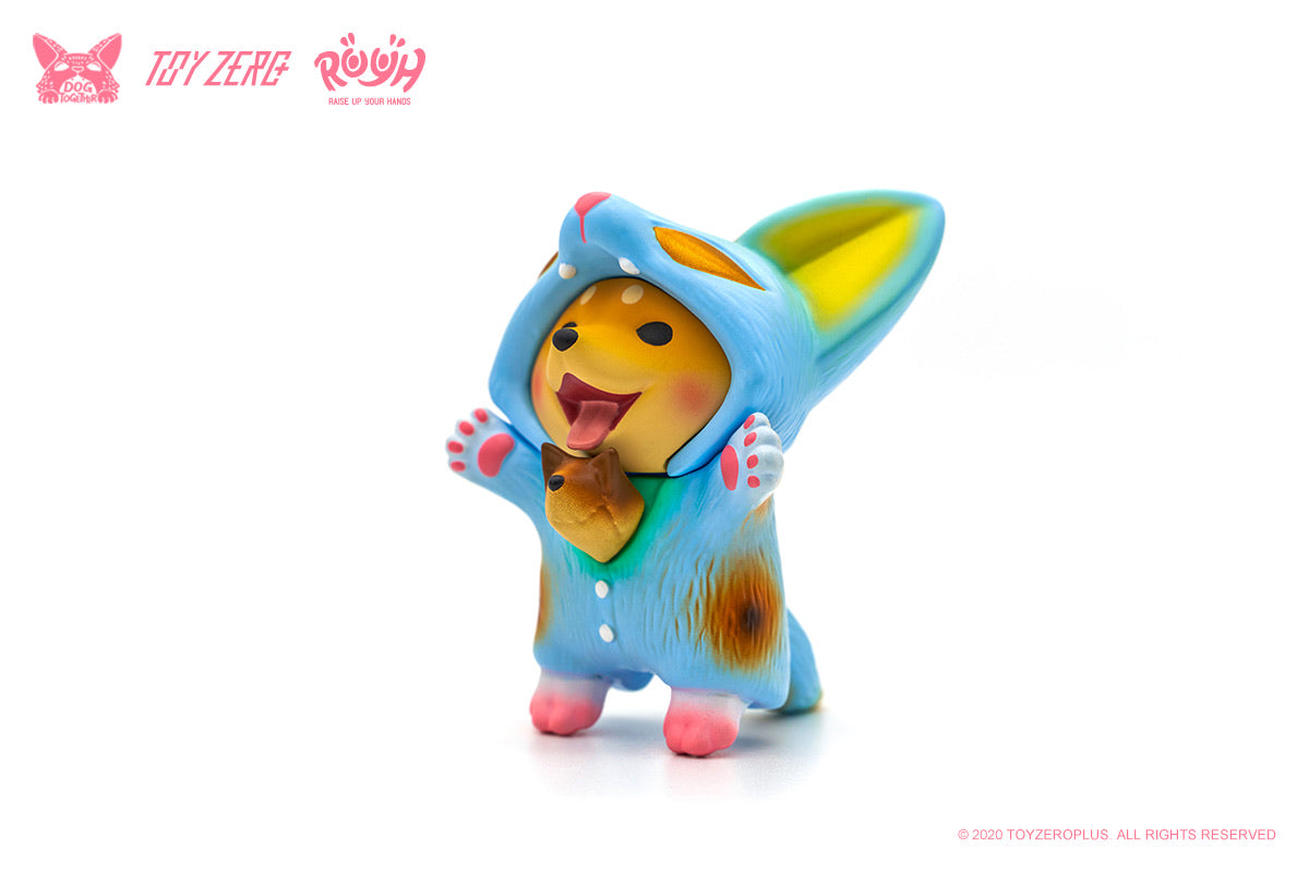 Raise Up Your Hands (R.U.Y.H.) — Baby Dou Dou (MANEKI Rose pink / Pastel Blue Edition)