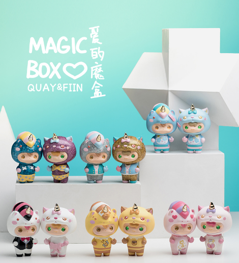 Quay & Fiin Love Magic by KiK Toyz x 1983 - Preorder