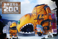 200% Mecha Shark Lords & Mecha Shark Lords Jr. by Momoco - Super Engineer DX Set