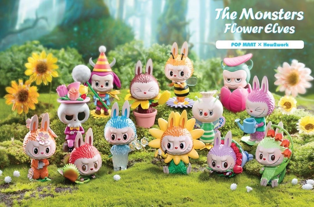 The Monster Flower Evles Labubu BlindBox Series by Kasing Lung x Pop Mart - Preorder