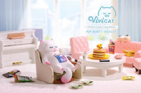 Vivicat Lazily Lying Cat Series by POP MART x Vivi Cat