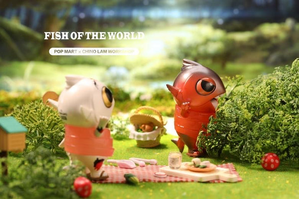 Fish Of The World by Chino Lam x POP MART