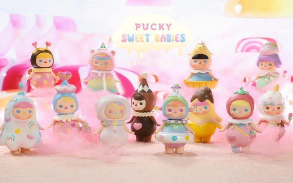 Pucky Sweet Babies Blindbox Serie By Pucky x POP MART - Preorder