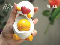 Mr. Yolk - Missing Part ver. By Ramarama Studio - Preorder