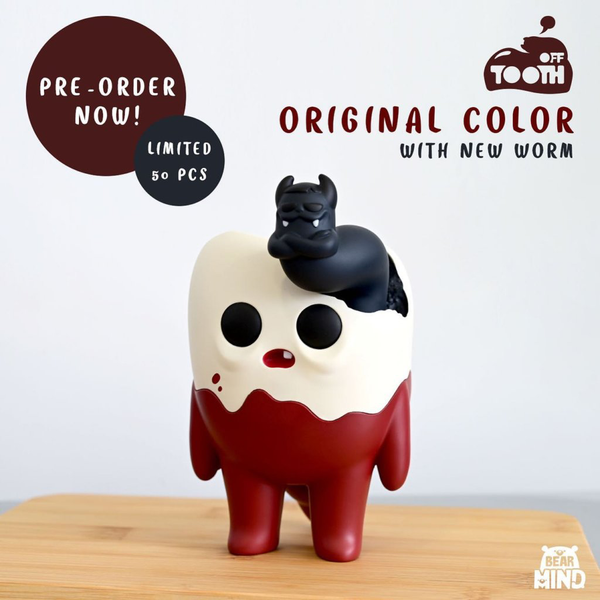 Tooth Off OG Tooth  w/ Black Worm by Bear In Mind Toys - Preorder
