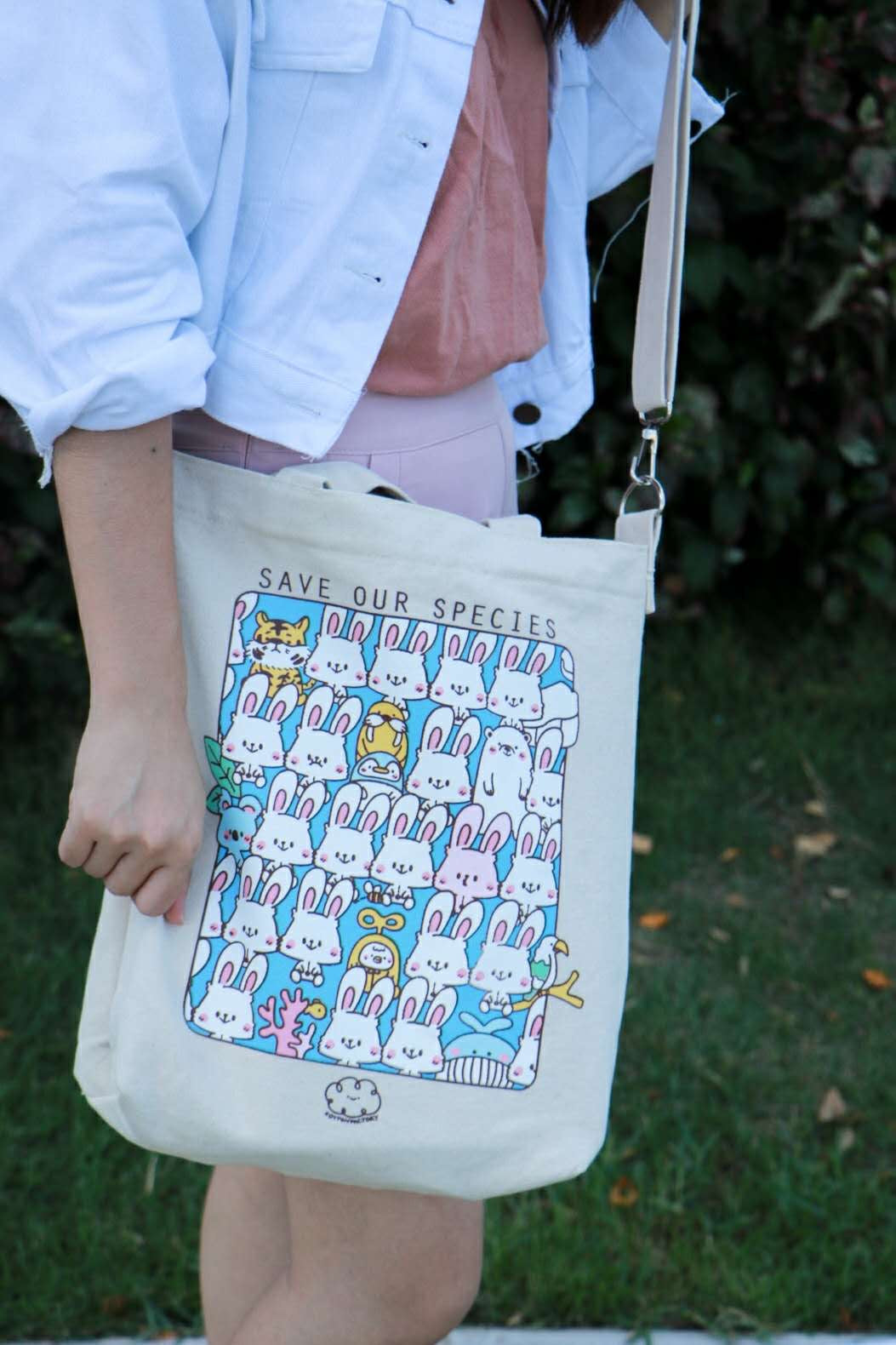 Save Our Species Tote by Kotton Factory