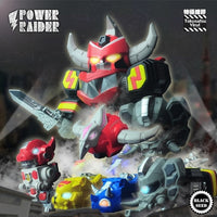 Power Raider Set of 5 by Kenneth Tang - Preorder
