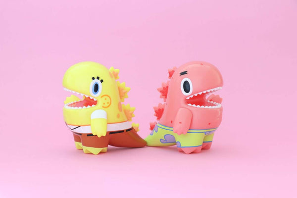 Little Dino SpongeBob & Patrick Edition by Ziqi Wu x Nickelodeon