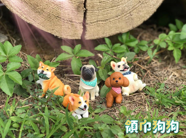 Scarf Doggie Gashapon Series