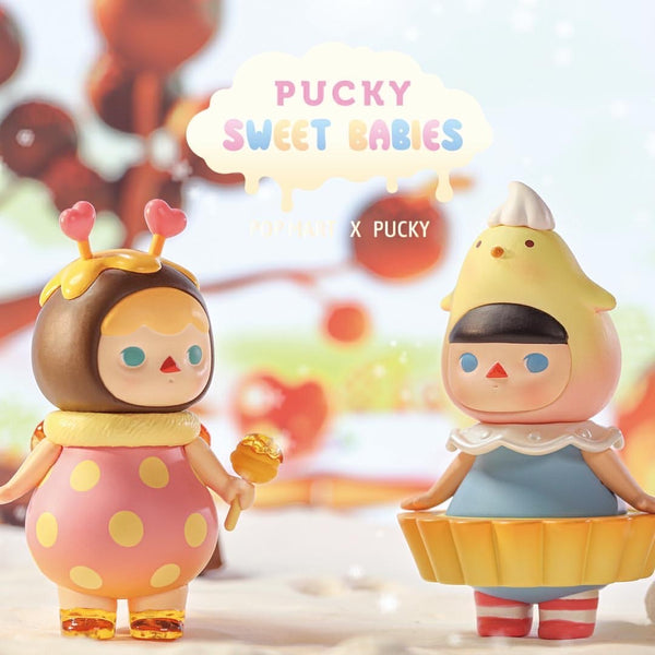 Pucky Sweet Babies Blindbox Serie By Pucky x POP MART