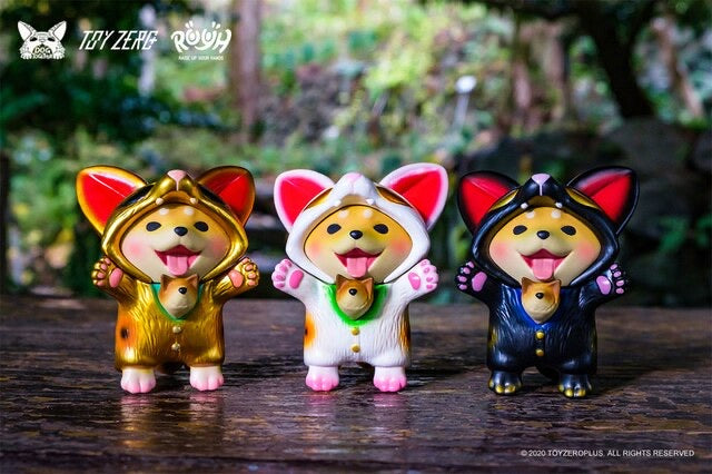 Raise Up Your Hands (R.U.Y.H.) Baby Dou Dou Maneki by Dog Together Studio