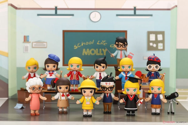 Molly School Life Series by Kennyswork x Pop Mart